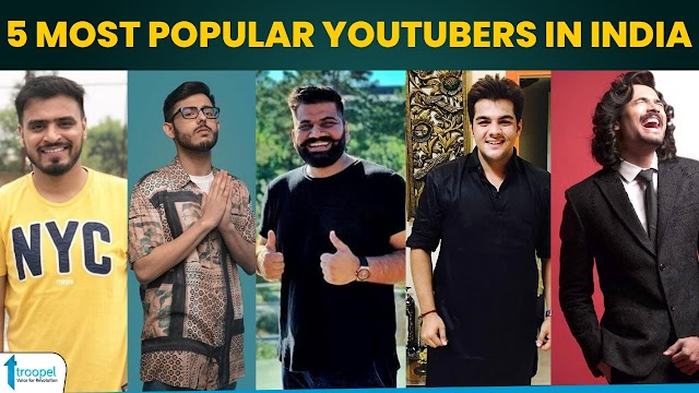 5 most popular YouTubers in India