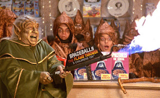 El merchandising de Spaceballs