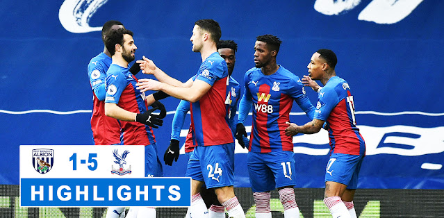 West Bromwich Albion vs Crystal Palace – Highlights