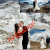 AMERICAN COUPLES WEDS ON TOP MOUNT EVEREST(PHOTOS)