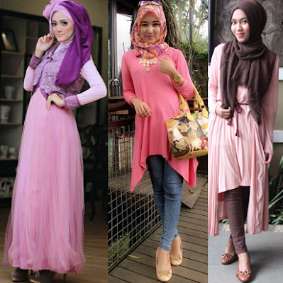 Gaya Fashion Terbaru Muslim Feminim 1