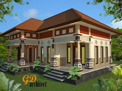 desain ruang tamu di teras desain rumah - contoh gambar rumah