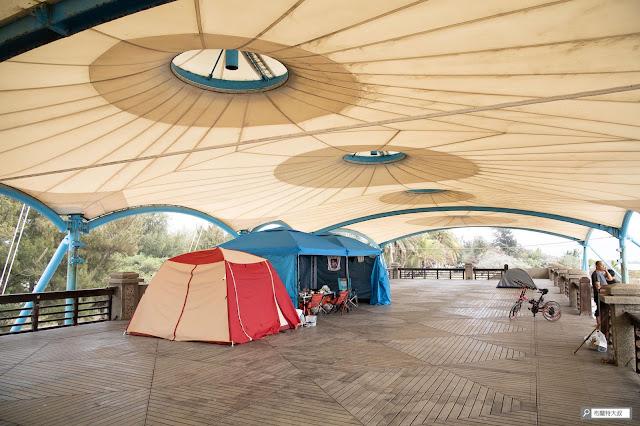 【大叔生活】2021 又是六天五夜的環島小筆記 (上卷) - 園區二樓有開放露營,但記得要先和管理員知會