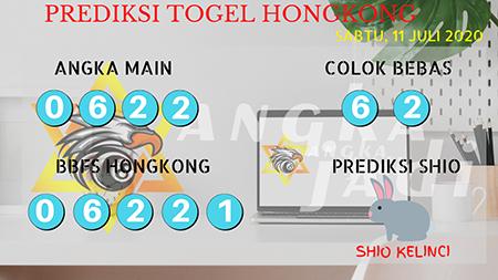 Prediksi Togel Angka Jadi Hongkong HK Sabtu 11 Juli 2020