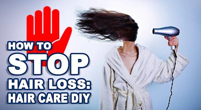 How to stop Hair Fall: Haircare DIY