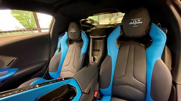 Interior Lingenfelter Chevrolet Corvette C8 Cunningham 60 Anniversary