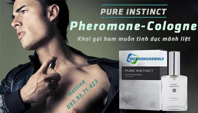 Nước hoa kích dục Pure Instinct Pheromone Cologne