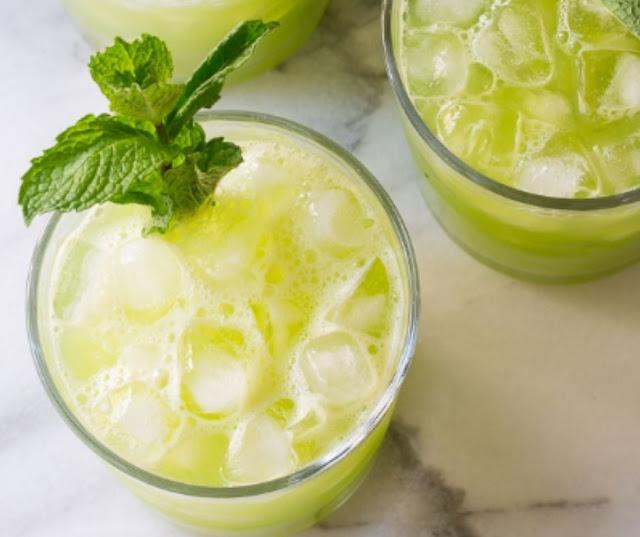 Cucumber Ginger Mint Agua Fresca
