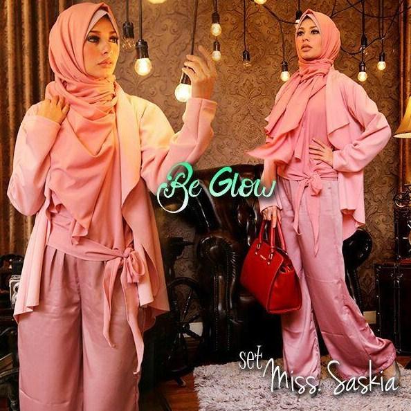 Fashion Trends Style Fashion Busana Muslim Wanita Indonesia Model
