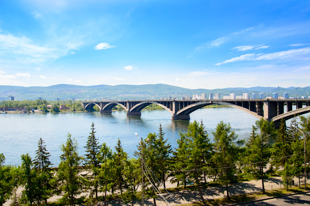 Мост Красноярск