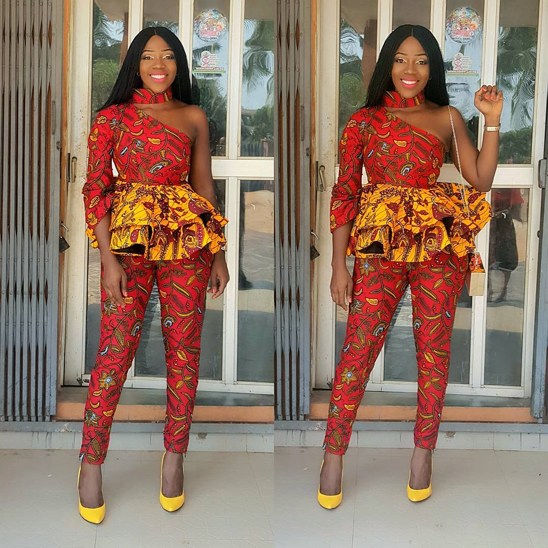 Latest Fashion Ankara Style 2018 African Modern Gowns Tops And Dresses