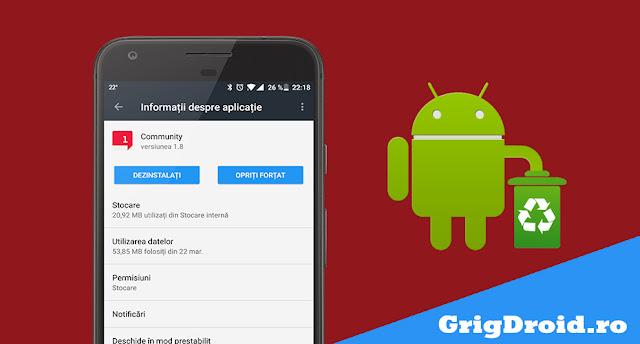 Cum dezinstalezi aplicațiile preinstalate și nedorite de pe un telefon Android | Cum scapi de bloatware