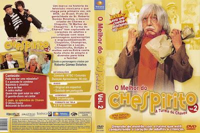 Série O Melhor do Chespirito Volume 2 DVD Capa