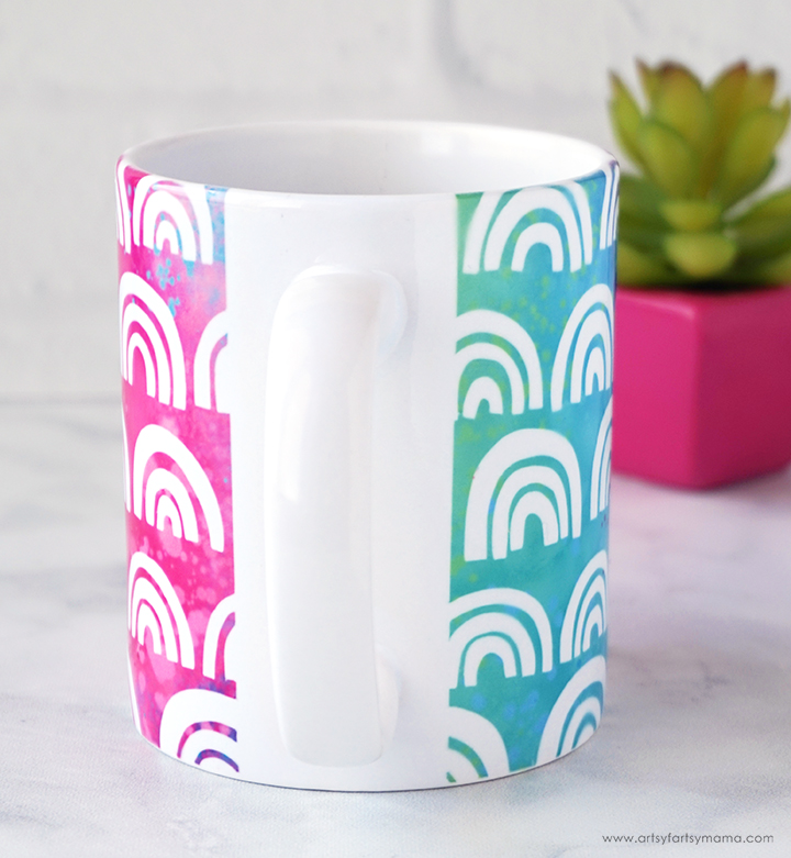 Rainbow Mug Handle