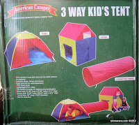 American Camper 3 Way Kid's Tent