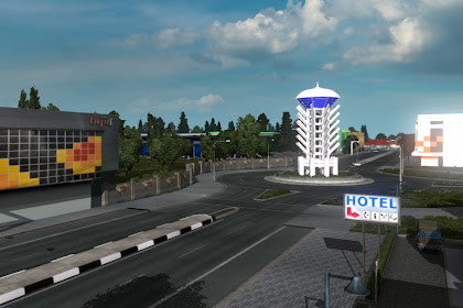 Map Javalova Gen 1 By Muhammad Rais - ETS2 Indonesia