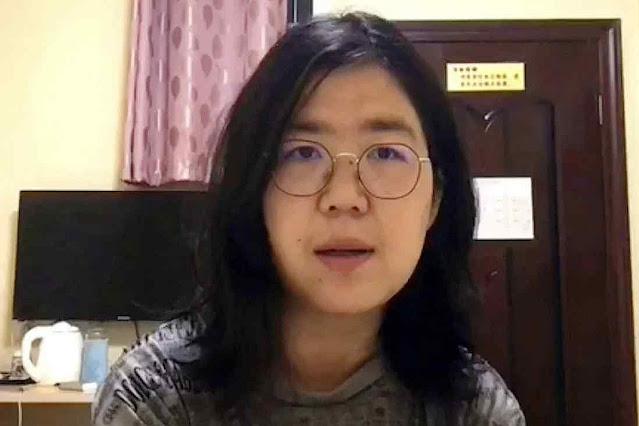 A advogada Zhang Zhan denunciou irregularidades em Wuhan e foi condenada