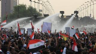 Demo Warga Syiah Anti Rezim Syiah Iraq Kembali Terjadi di Baghdad