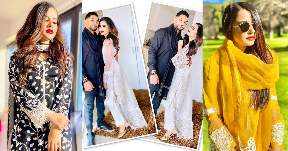 Saniya Shamshad Awesome Pictures on Eid ul Azha