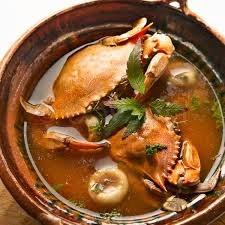 El botanero chilpachole con jaibas y camaron receta for Cocina tradicional definicion