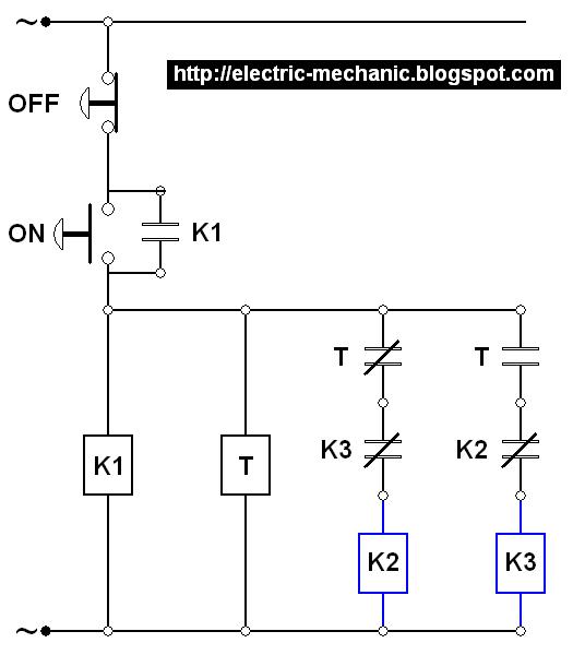 ilmu listrik: Pengaplikasian Kerja NO dan NC Proteksi