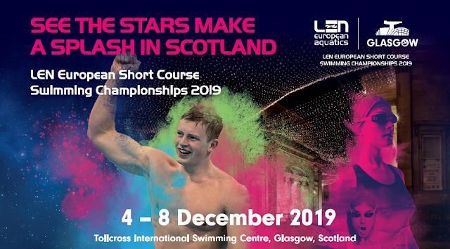 NATACIÓN - Campeonato de Europa en piscina corta masculino 2019 (Glasgow, Escocia)