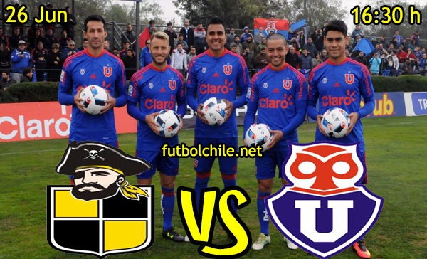 VER STREAM YOUTUBE RESULTADO EN VIVO, ONLINE: Coquimbo Unido vs Universidad de Chile