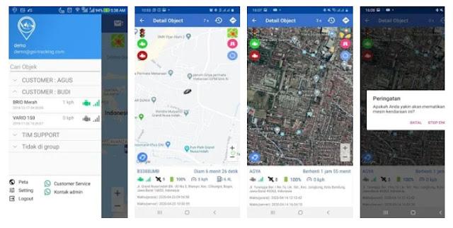 Aplikasi GPS Server Indonesia