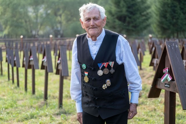 Magyar Érdemrend Lovagkeresztjével tüntették ki az utolsó élő, Úz völgyi veteránt, Bartha Mihályt