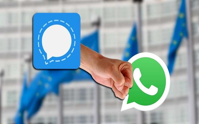 كيف تنقل محادثات الواتساب الجماعية إلى تطبيق Signal الذي يرحل إليه الناس الآن !