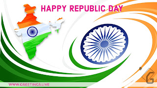 Indian Republic Day festival celebration as on 26 January 2018.