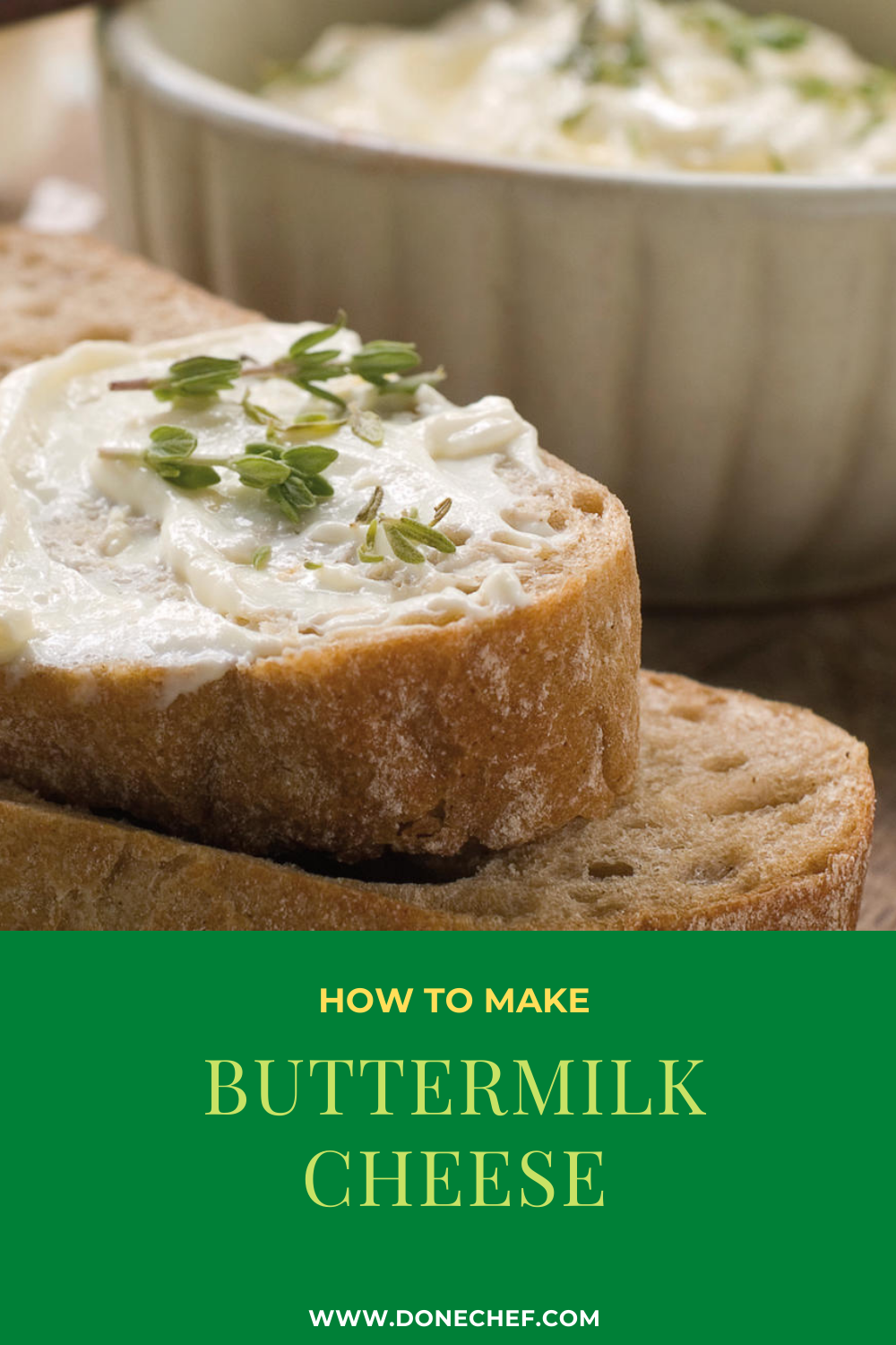 How to make Buttermilk cheese