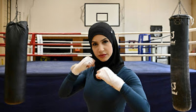 German boxer fight to wear headscarf in the ring