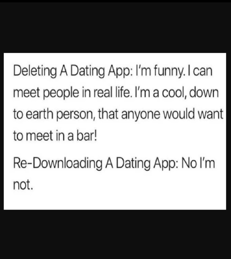dating app meme The app does not automatically upload any meme you create – your privacy is our top priority make funny pictures, dank lit memes.