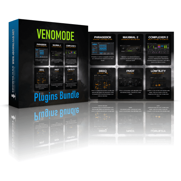 Venomode Plugins Bundle 2020.6 Full version