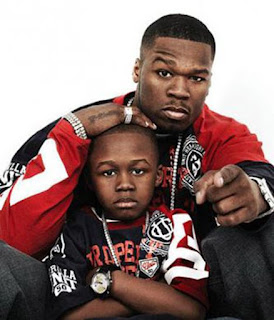 50 cent beef with son marquise