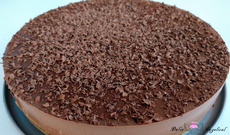Receta de la Tarta de queso, chocolate y café