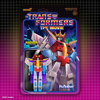 Transformers: The Movie ReAction Figures by Super7