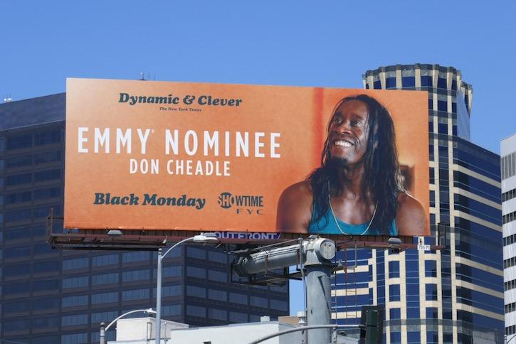 Don Cheadle Black Monday 2020 Emmy nominee billboard