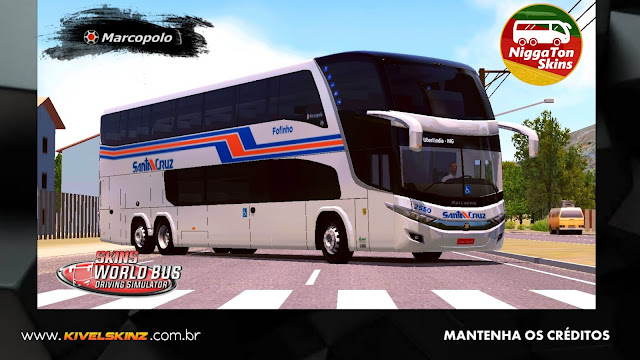 PARADISO G7 1800 DD 6X2 - VIAÇÃO UNIÃO SANTA CRUZ