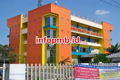 Pendaftaran Mahasiswa Baru Universitas Jayabaya 2021-2022