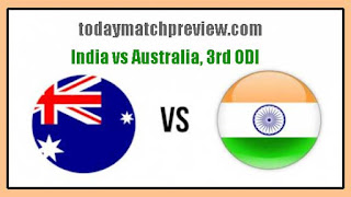 3rd ODI IND vs AUS Today Match Prediction | Who will win AUS vs IND