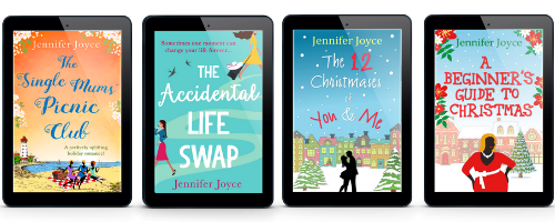 The Single Mums' Picnic Club, The Accidentail Life Swap, The 12 Christmases of You & Me, A Beginner's Guide To Christmas