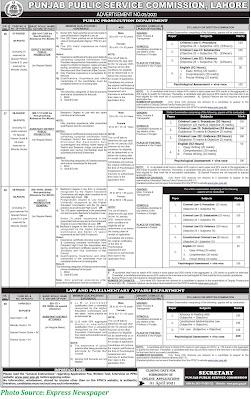 PPSC Jobs 2021 Latest Punjab Public Service Commission Jobs 2021 Apply Online www.ppsc.gop.pk Advertisment No. 05/2021