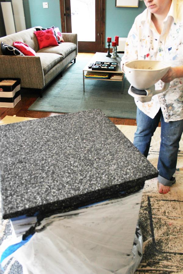 Update Laminate Countertops With Paint Using Rustoleum
