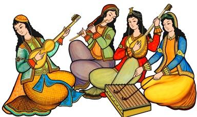 古代ペルシアの楽器