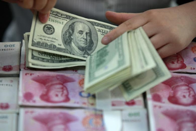 China Yuan, dollar, RMB, interest rate, money