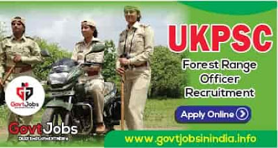 UKPSC Forest Range Officer 2021