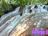 Serunya Wisata Air Terjun Manetan Batu Raja Bangkalan Madura