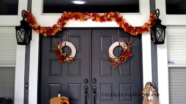Fall Wreath. Share NOW. #falldecor #fall #fallwreaths #wreaths #eclecticredbarn